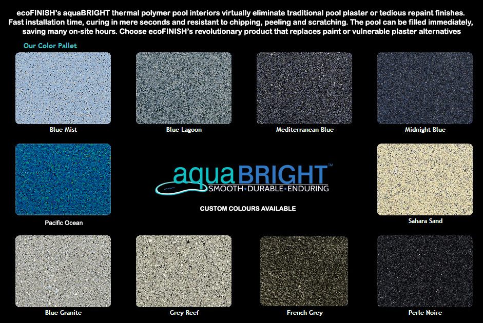 AQUA BRIGHT COLOUR RANGE